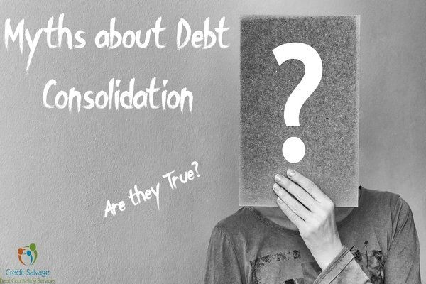 Myths about Debt Consolidation - Are they True